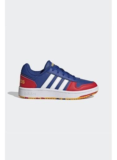 adidas Adidas Erkek Çocuk Günlük Spor Ayakkabı Hoops 2.0 K Fy7016 Mavi